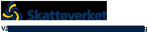 Logotyp: Skatteverket - Vår vision är ett samhälle där alla vill göra rätt för sig