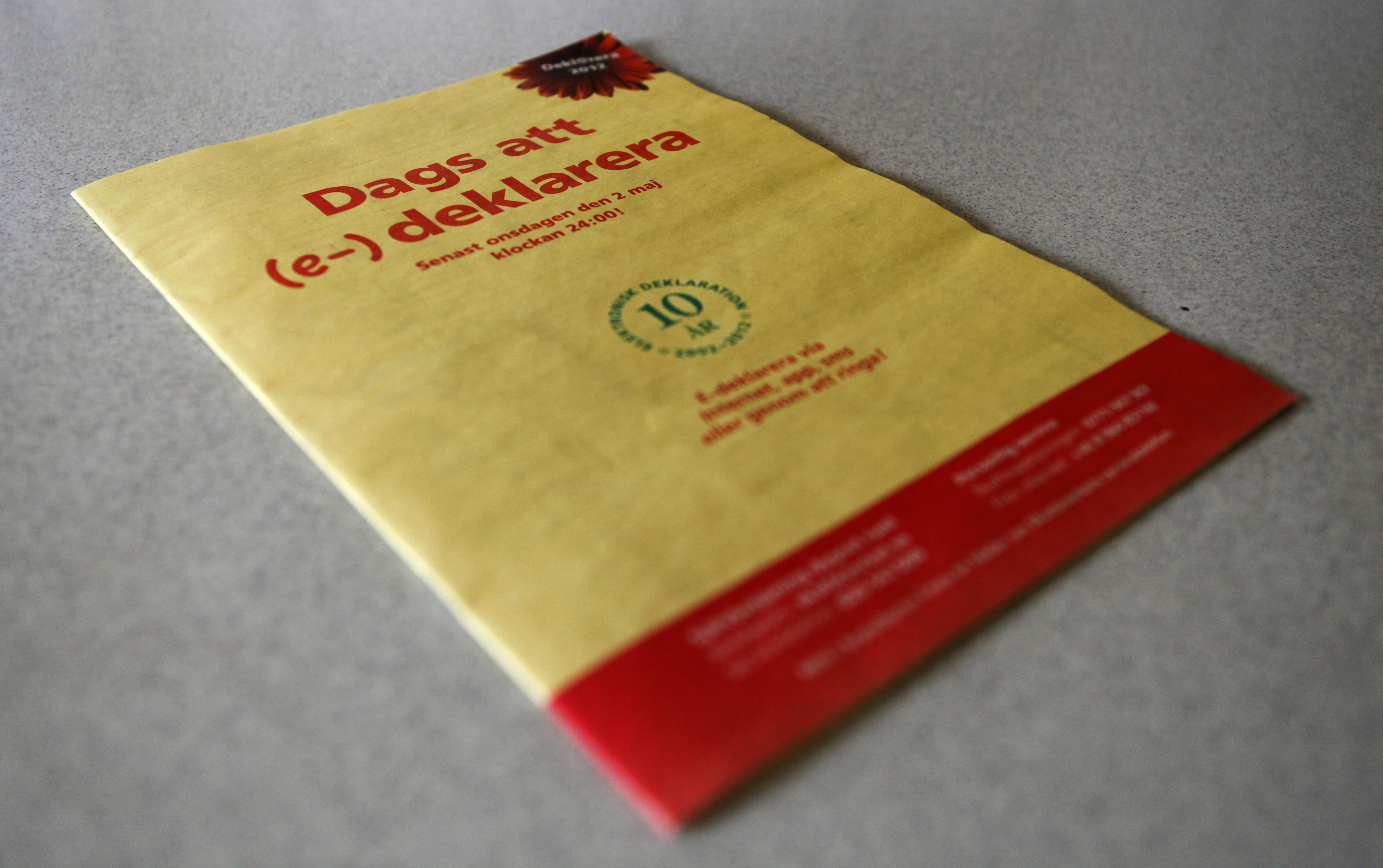skatteverket deklarera